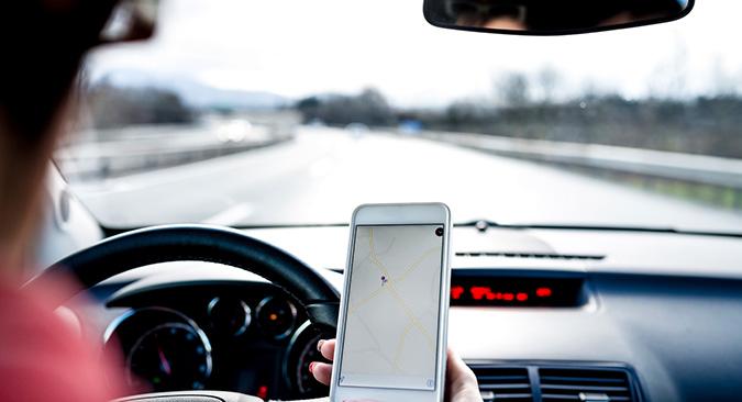 Autos sin chofer: buscando la supercarretera de la información real