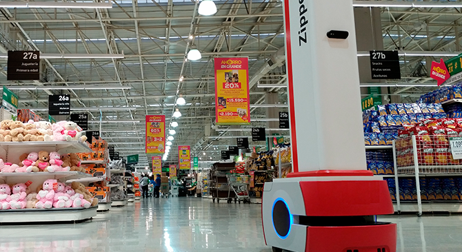 "Robot del retail llamado ""Zippedi"" gana Premio Avonni Entel 2018"