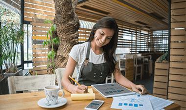 mujer emprendedora digital