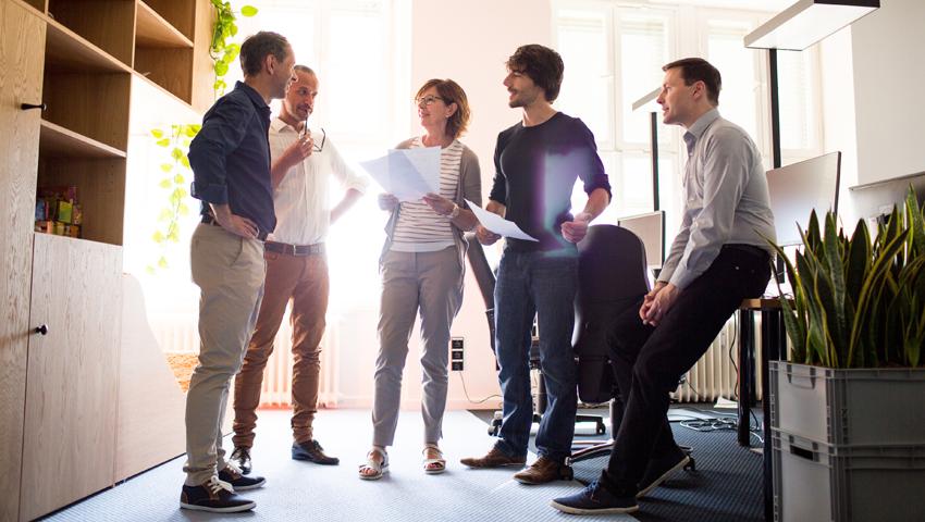 Mejora el trabajo colaborativo con las comunicaciones unificadas